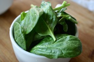 Body Sculpting Diet spinach